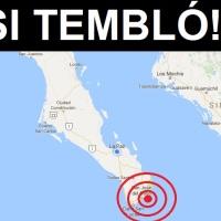 ¡Si tembló! Se registró un ligero sismo hace unos momentos en #LOSCABOS
