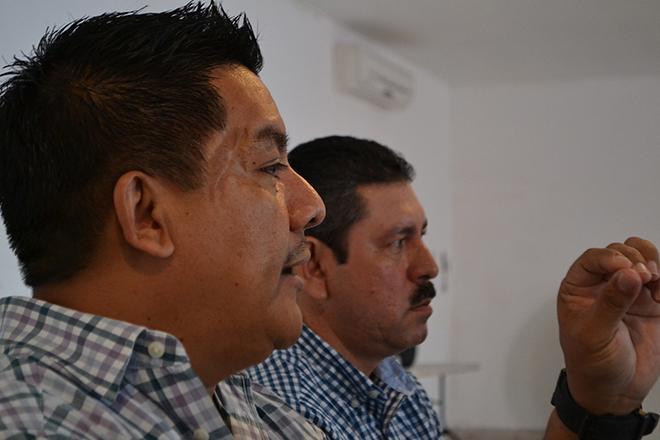 Molesto Rentería por la manifestación del PRD, contra el Gasolinazo