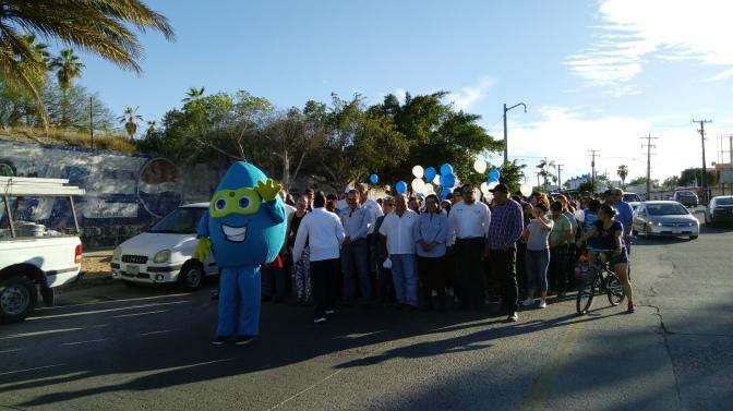 Conmemora SAPA La Paz el día mundial del Agua