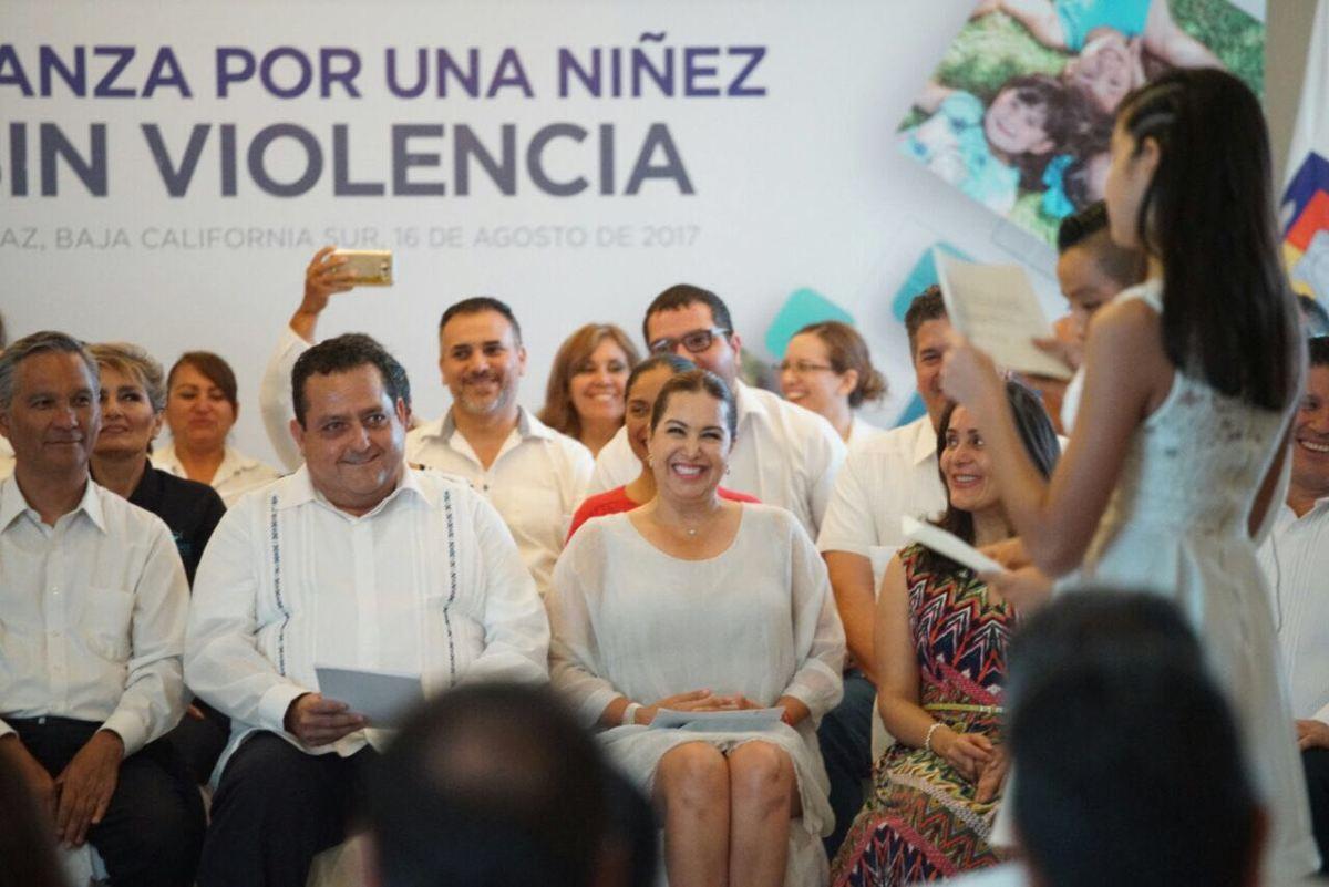 BCS, primer Estado en sumarse a la alianza por una niñez sin violencia