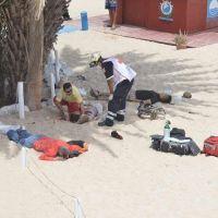 VIDEO - ¡Ataque armado en playa Palmilla deja a tres personas sin vida! #LosCabos