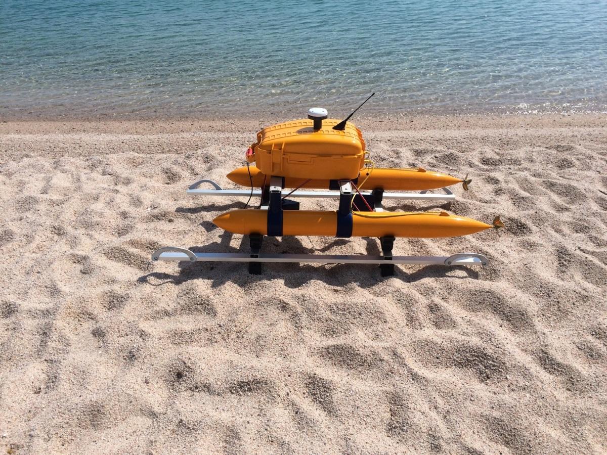 Egresado de UABCS creó PROPULSOR para vehículo acuático sumergible