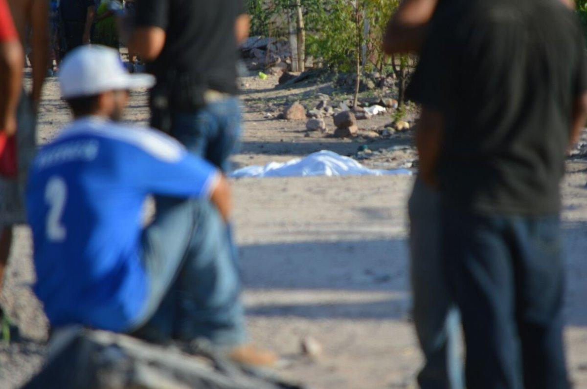 Lo asesinaron a BALAZOS en la colonia Villas de Guadalupe #LAPAZ