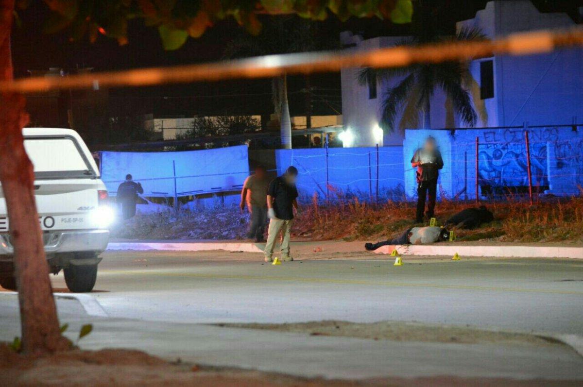 ¡Ataque a balazos deja saldo de dos fallecidos! Col. Ruiz Cortines