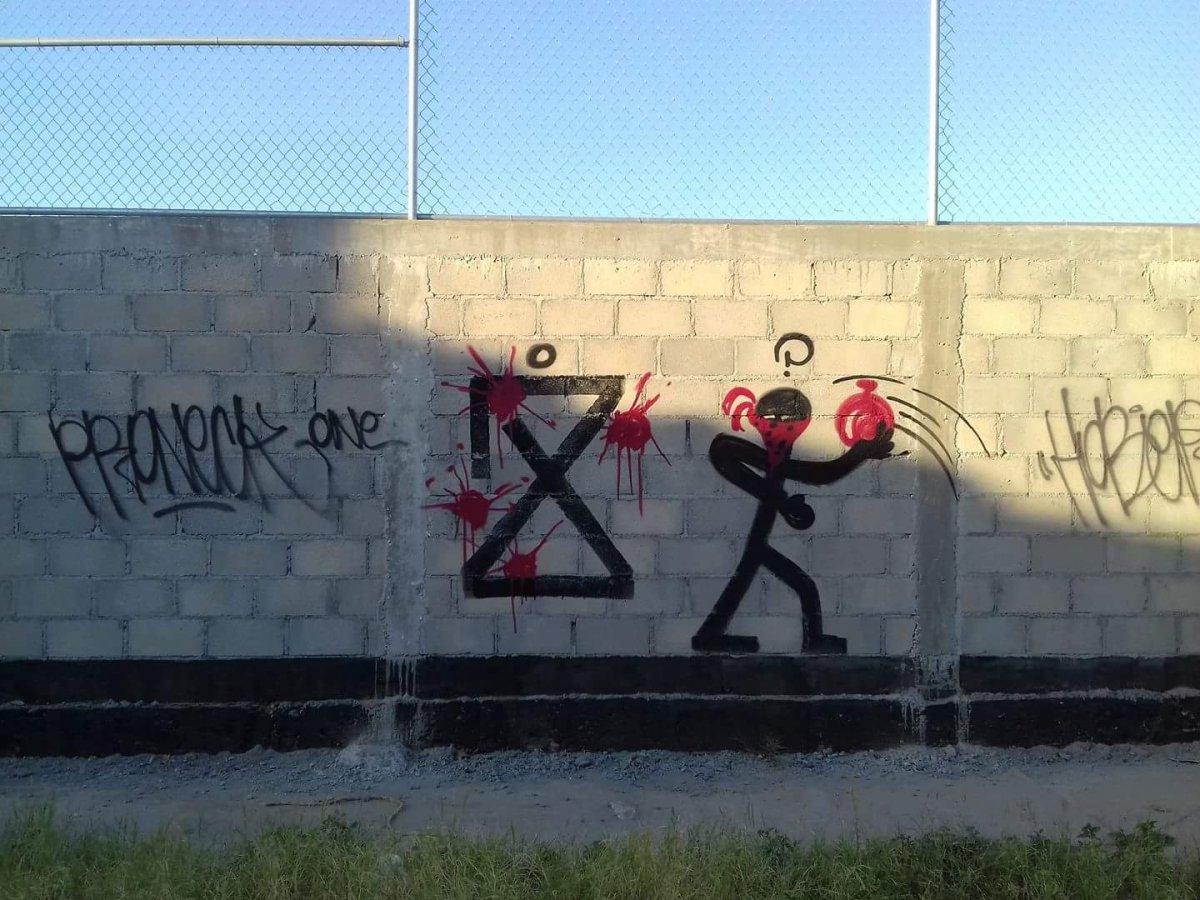 ¡Misterioso símbolo en paredes de la ciudad de La Paz!