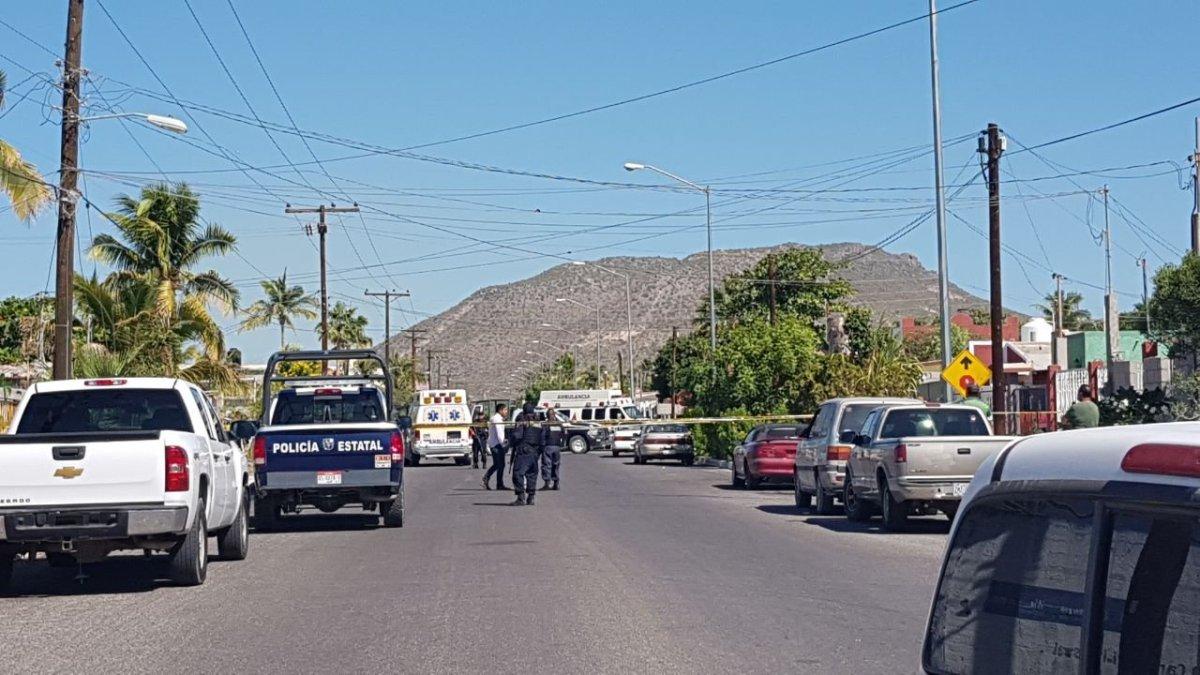 ¡DOBLE ejecución está tarde en la colonia LOS OLIVOS en La Paz!