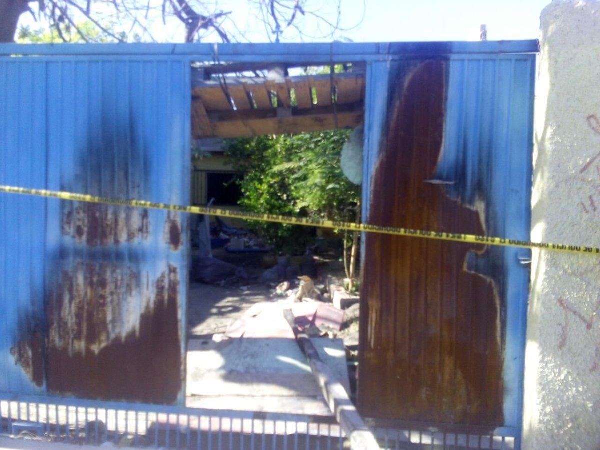#LAPAZ.-  ¡No aparecía su hijo y lo encontró calcinado en el lugar de un incendio!
