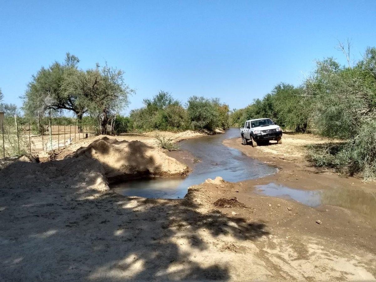 Informa SAPA La Paz de desabasto de agua potable por rompimiento de acueducto El Carrizal