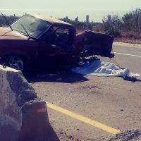 ¡Aparatoso accidente deja una mujer muerta en Cabo San Lucas!
